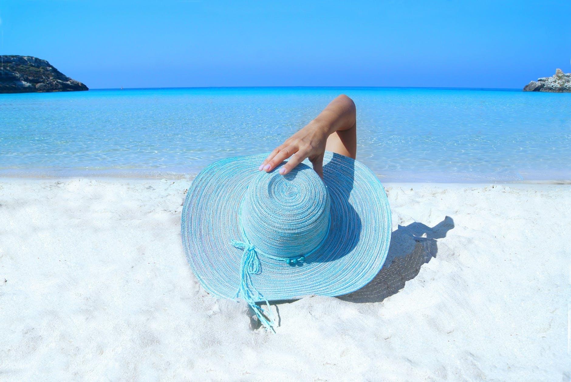 Sunbathing A Relaxing